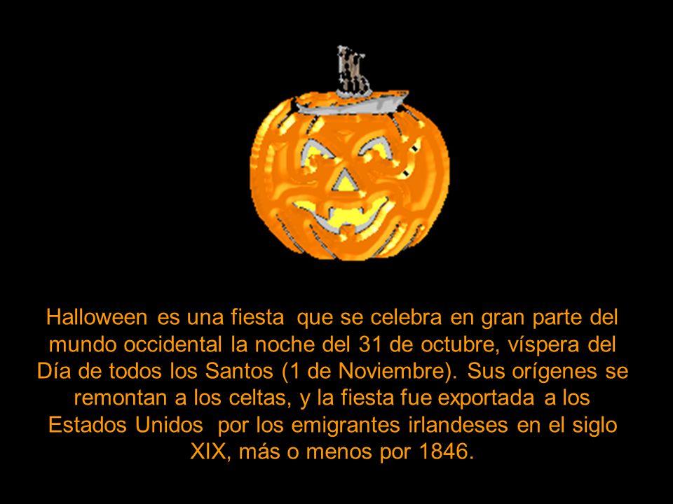 2 Halloween es una fiesta que ...
