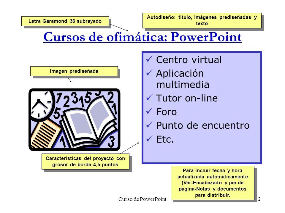 Cursos gratuitos de ofimática Nombre del producto creado en Word Art ...