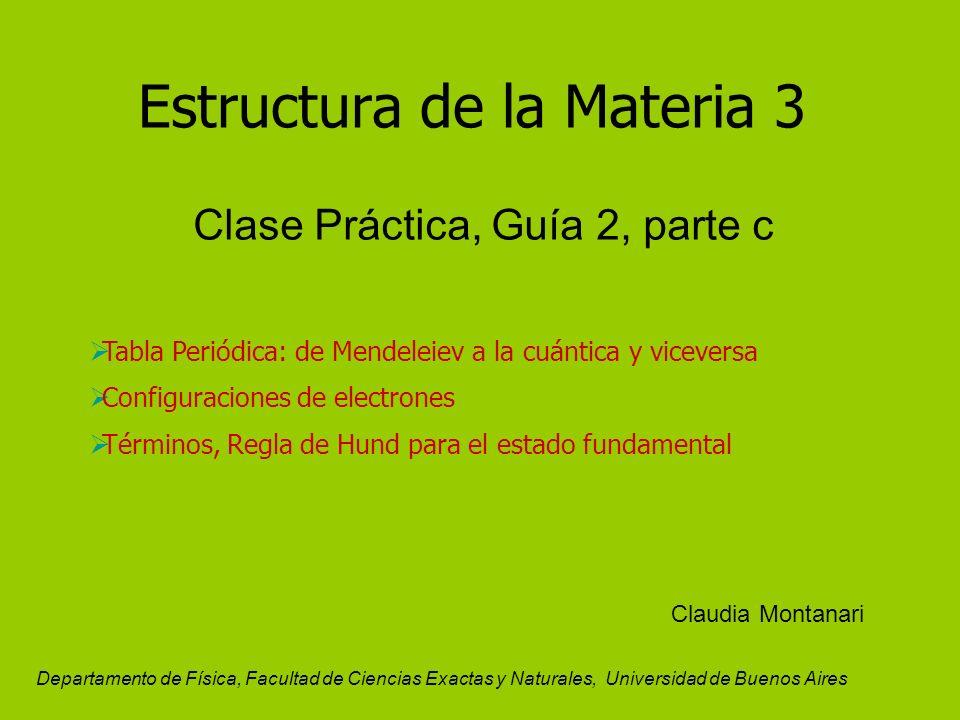 Estructura de la materia 3 clase prctica gua 2 parte c tabla 1 estructura urtaz Images