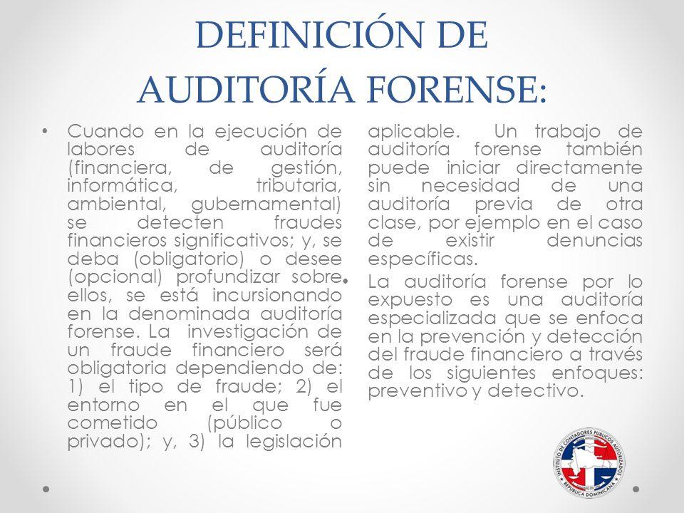 Auditoria Forense Elaborado Por Cpa Licdo Ramón Perelló Ppt