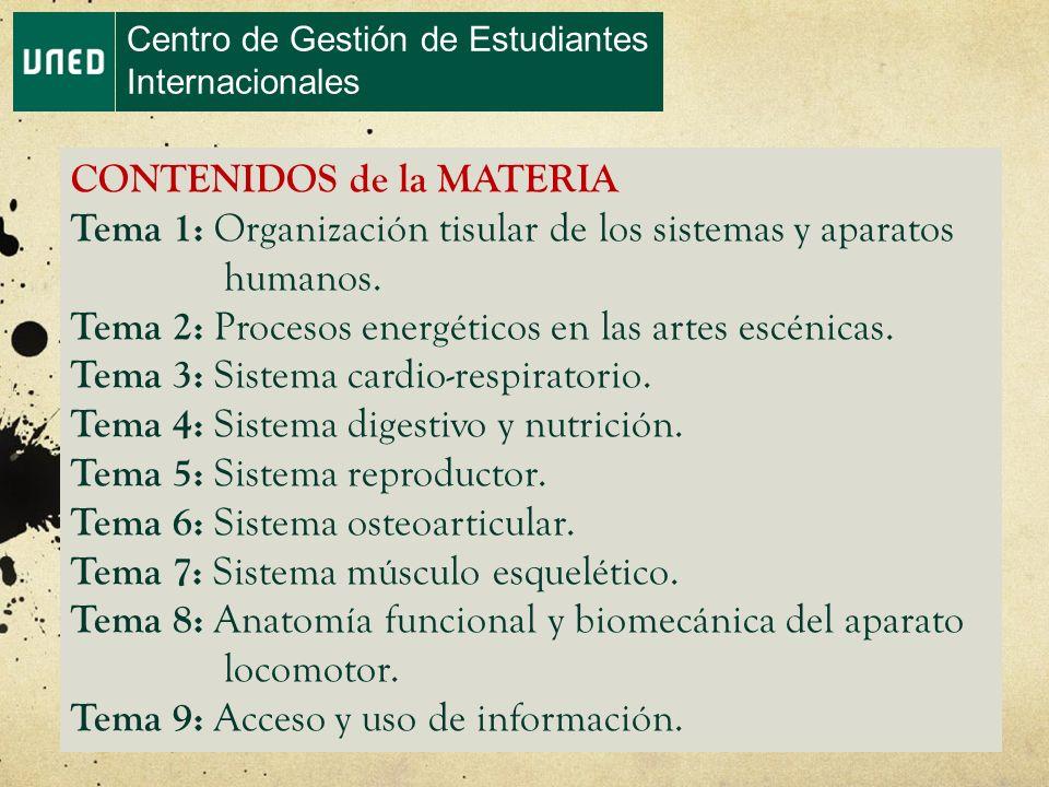 MATERIA: ANATOMIA APLICADA Centro de Gestión de Estudiantes ...