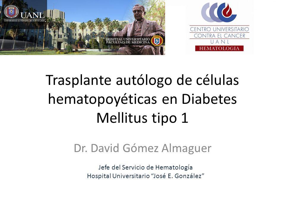 trasplante alogénico de células de los islotes síntomas de diabetes