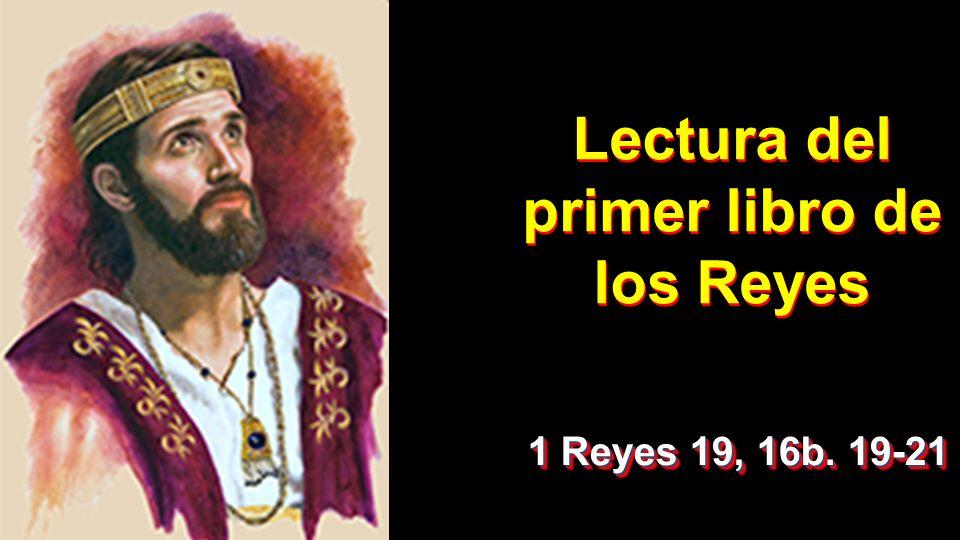 Resultado de imagen de PRIMER LIBRO DE LOS REYES 19, 16b. 19-21