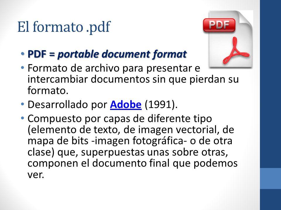 El formato PDF Unidad Análisis y Obtención del Texto Taller de ...