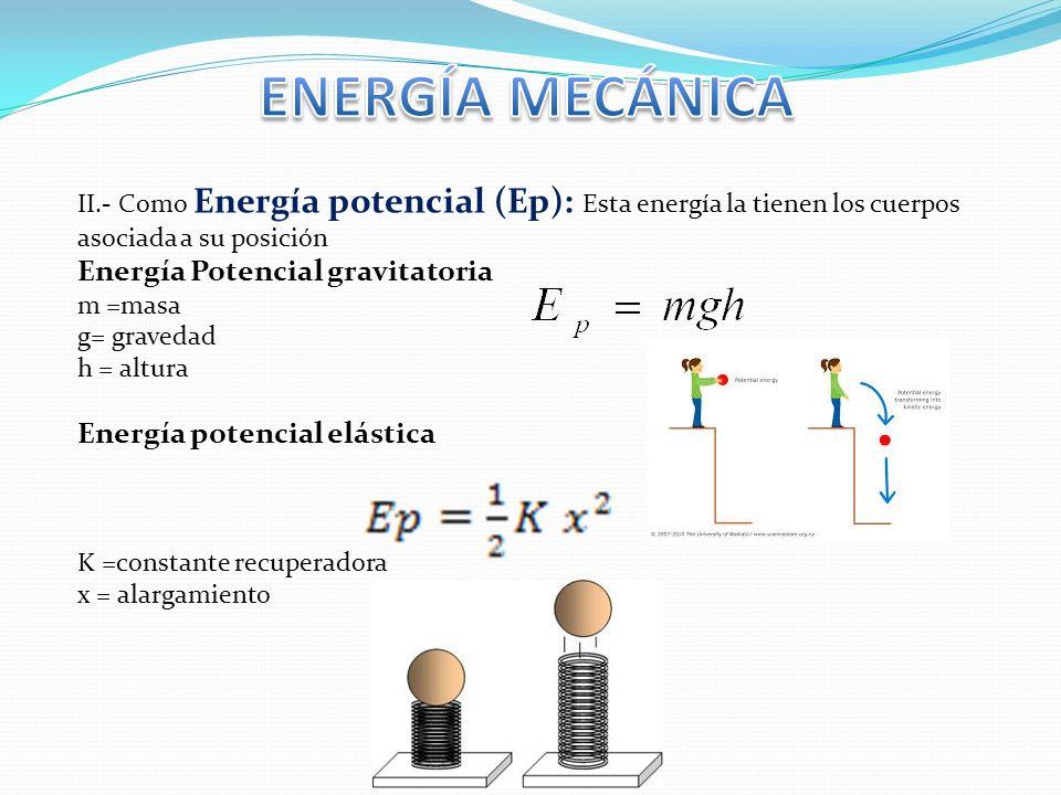 Fuentes De Energía Energía Mecánica Cinética Y Potencial Conservación De La Energía Trabajo Y Potencia Calor Relación De La Energía Mecánica Con El Trabajo Ppt Descargar