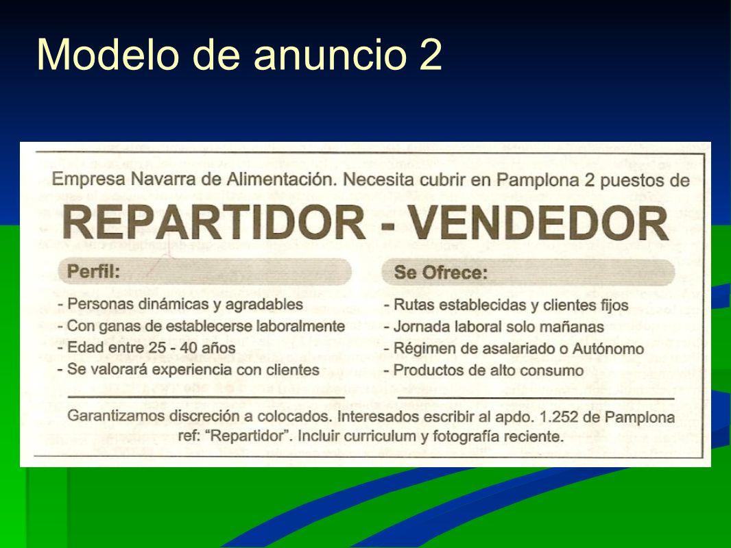 Solicitud de trabajo Anuncios Cartas-instancias Currículum. - ppt ...