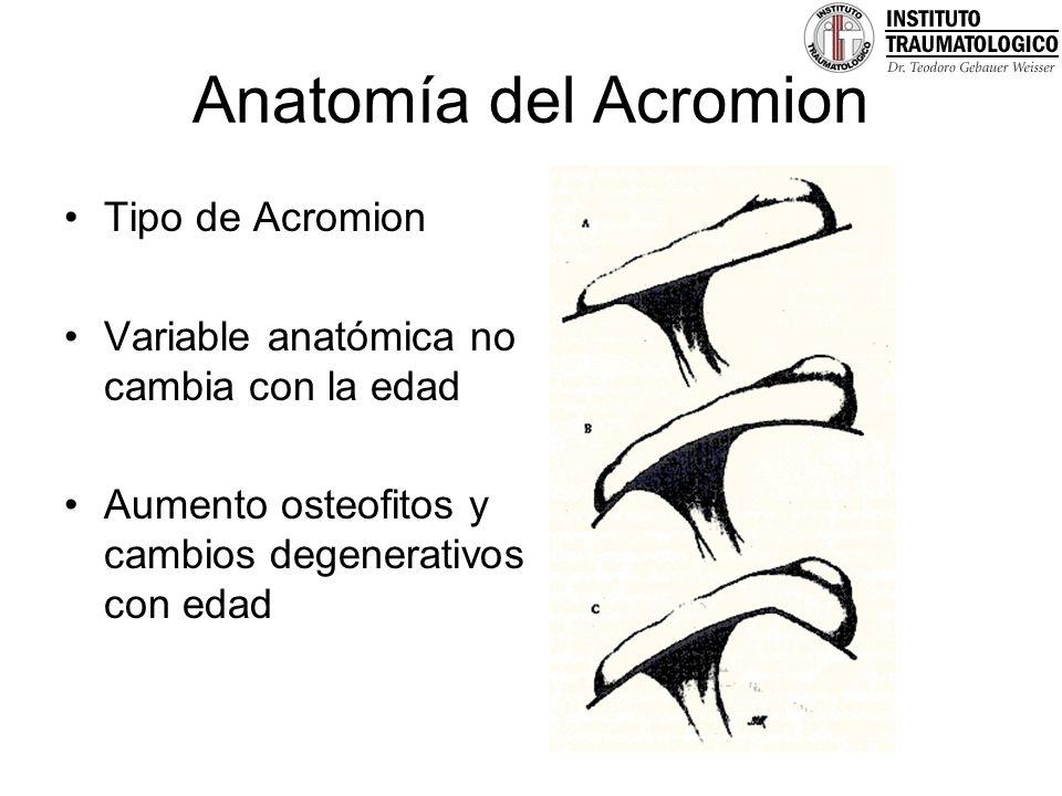 Patología Manguito Rotador Dr. José Francisco Soza Rex Dr. Rodrigo ...