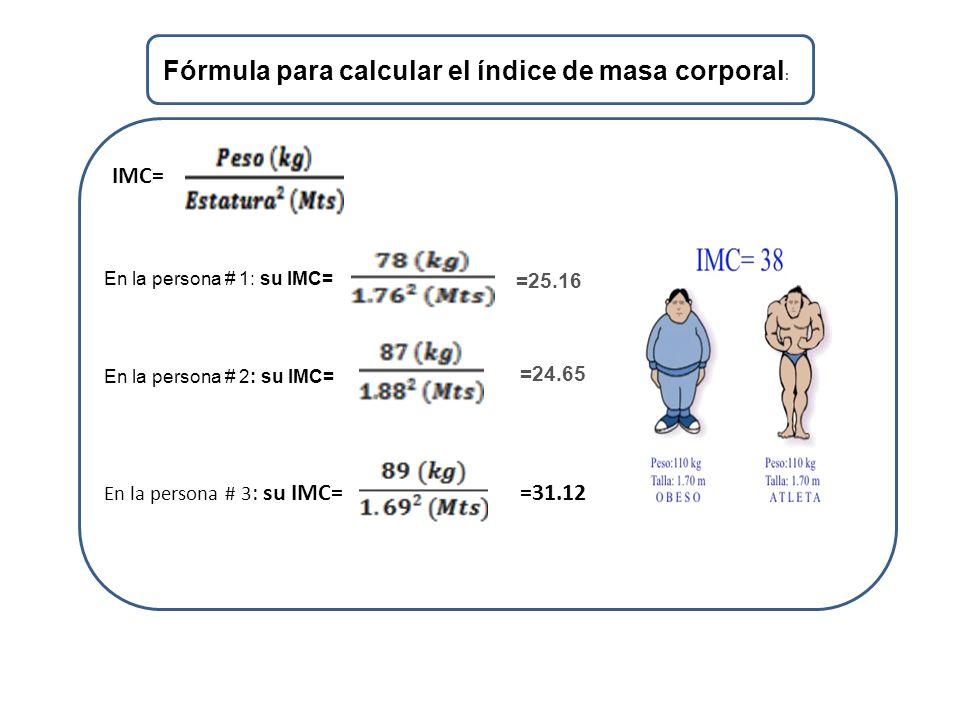 ESTUDIANTE : Johnder Nazareno Briceño Rojo C.I.: INDICE DE MASA ...