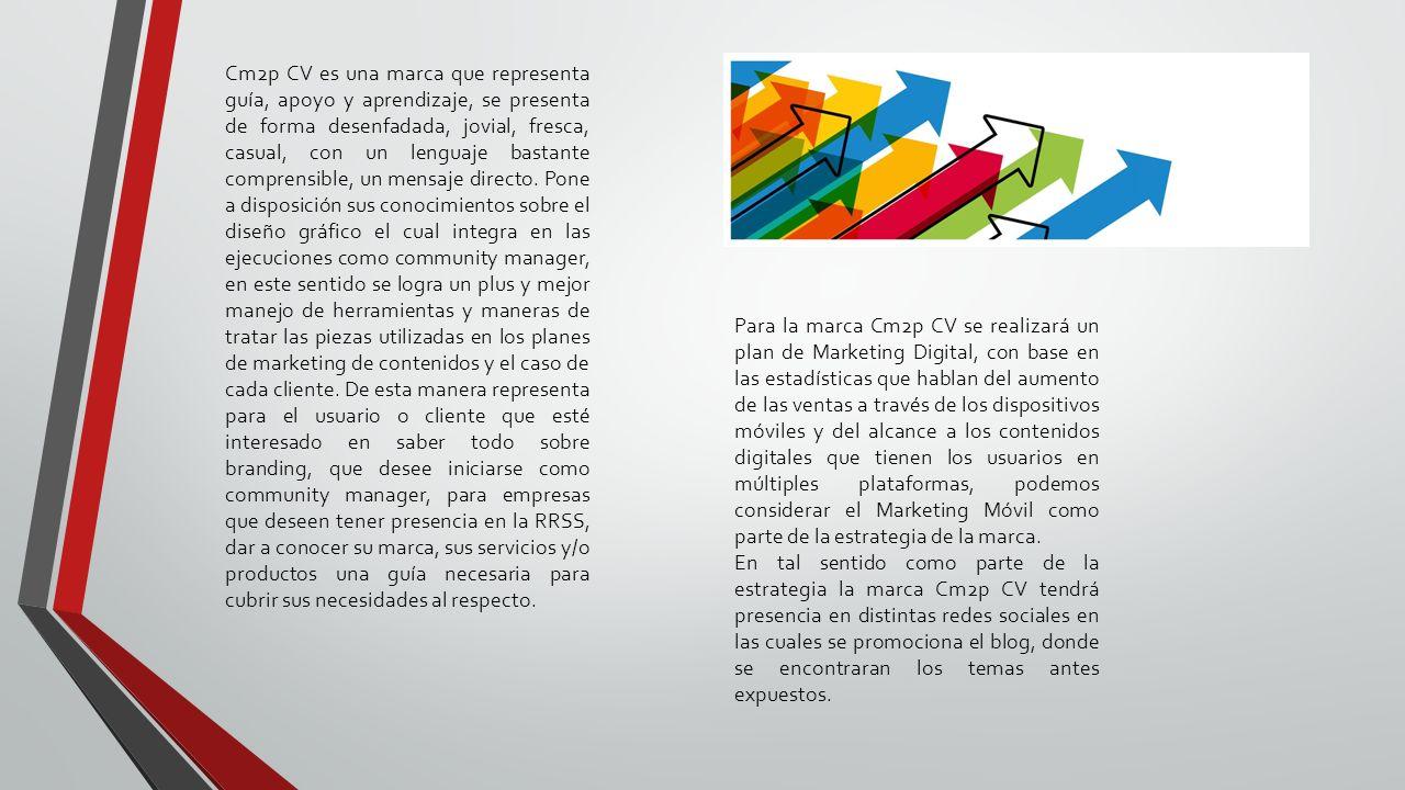 ESTRATEGIA MARKETING MÓVIL CM2P CV Cm2p Comunicación Visual Clara ...