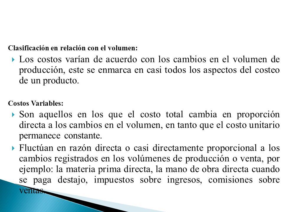 DEFINICION DE COSTOS:  El costo se define como el proceso de ...