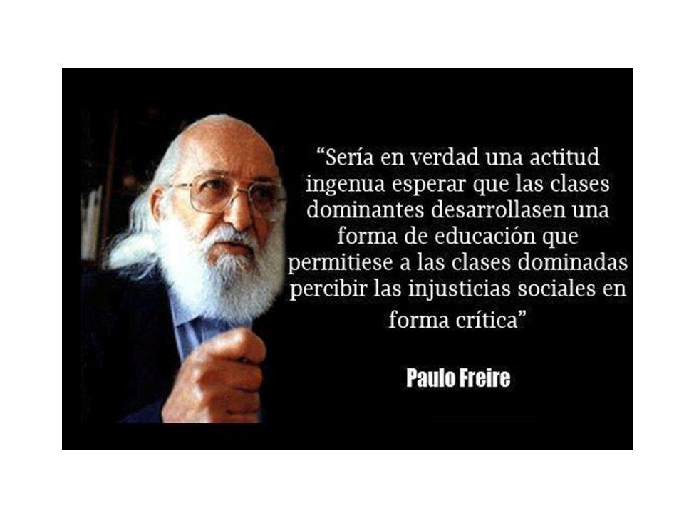 Paulo Freire La Educación Popular Historia De Vida Paulo