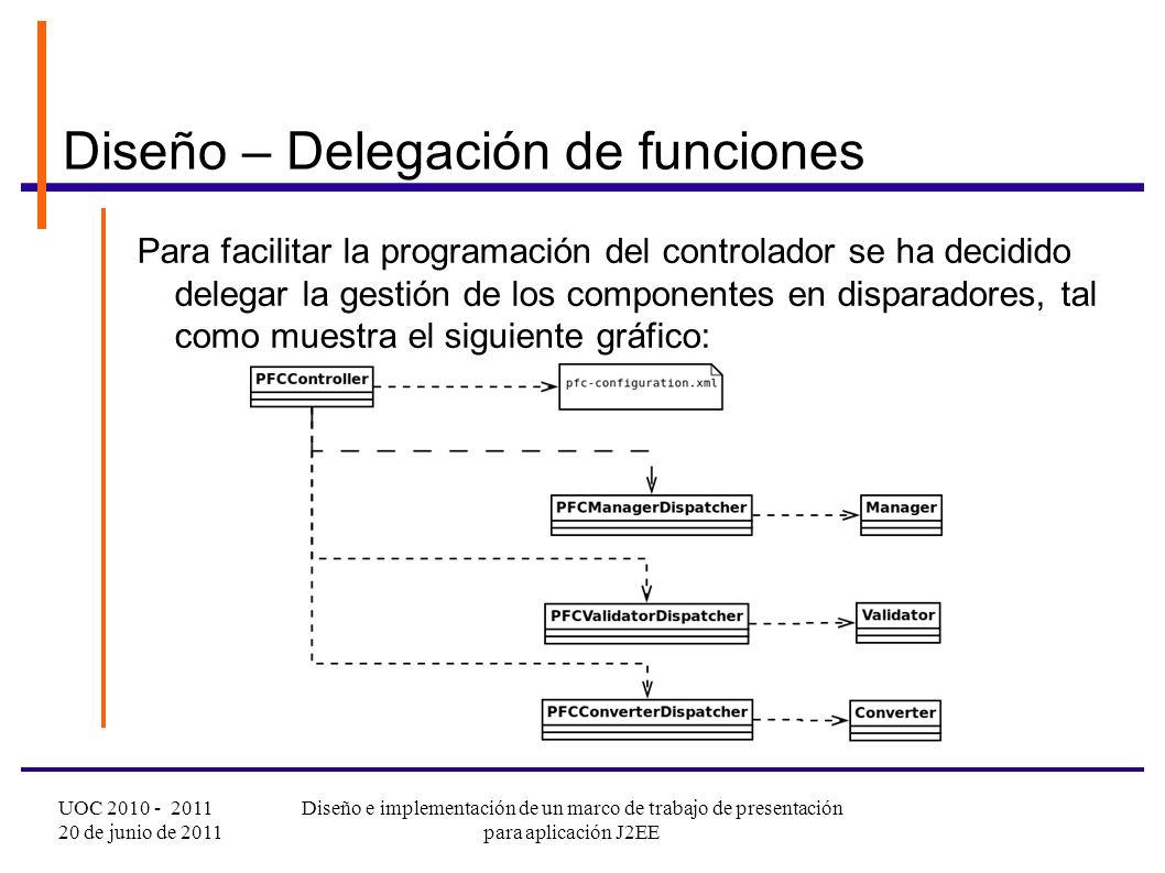 Diseño e implementación de un marco de trabajo de presentación para ...