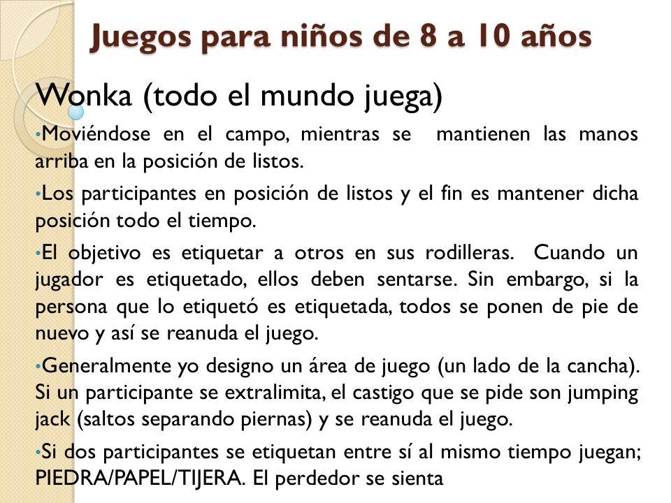 Juegos Para Ninos De 8 A 10 Anos Wonka Todo El Mundo Juega
