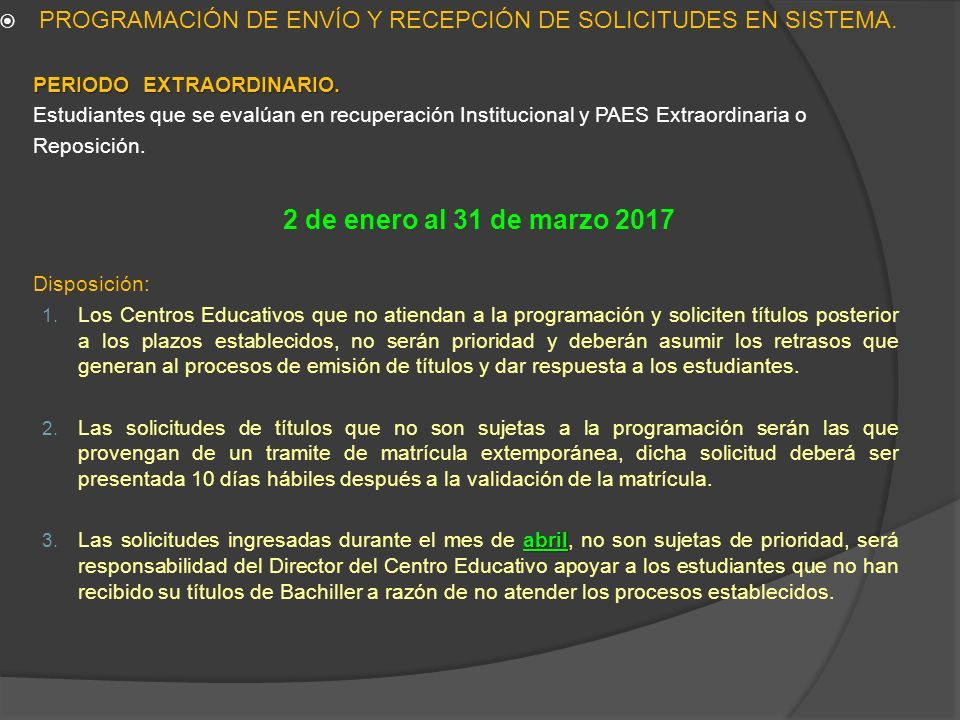 Ministerio de Educación, Octubre Ing. Jonathan Guillermo Aparicio ...