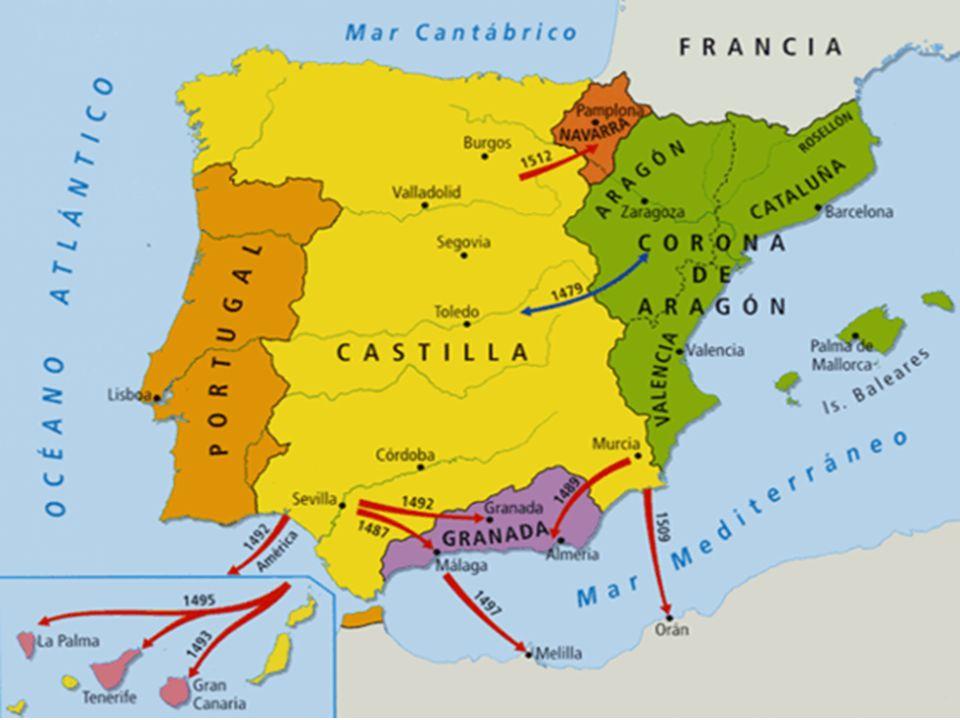 Mapa España Siglo Xv.Europa Mediados Siglo Xv Los Reyes Catolicos Construccion