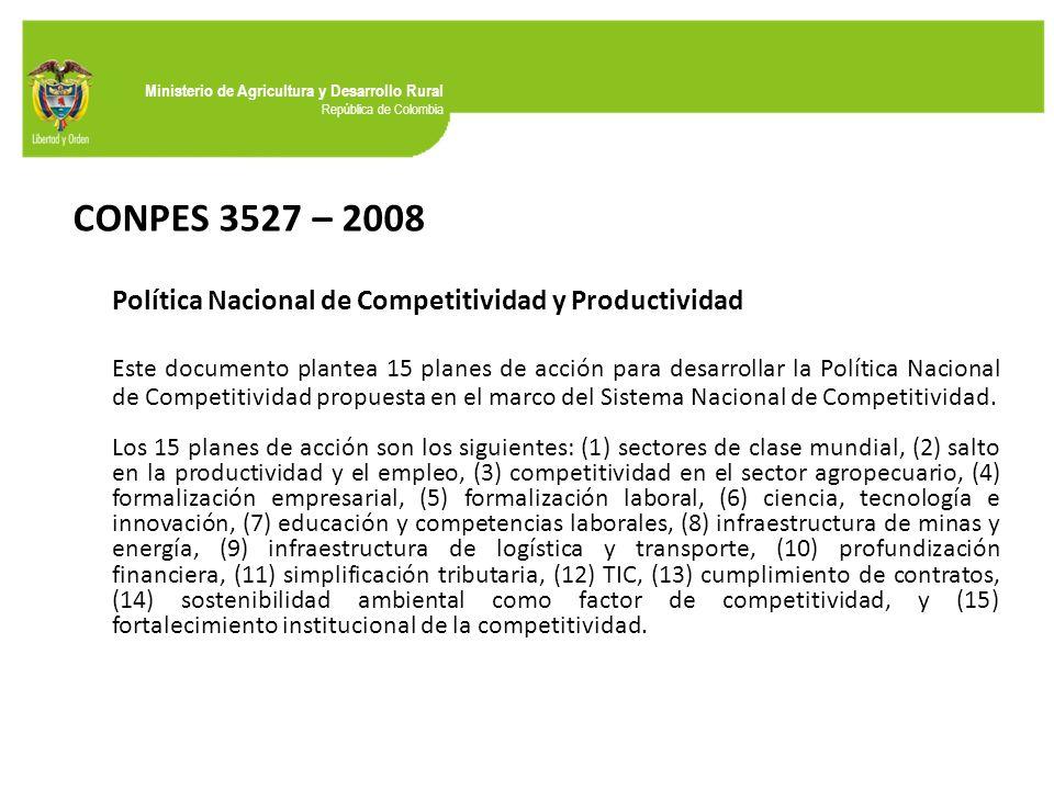 documento conpes 3527