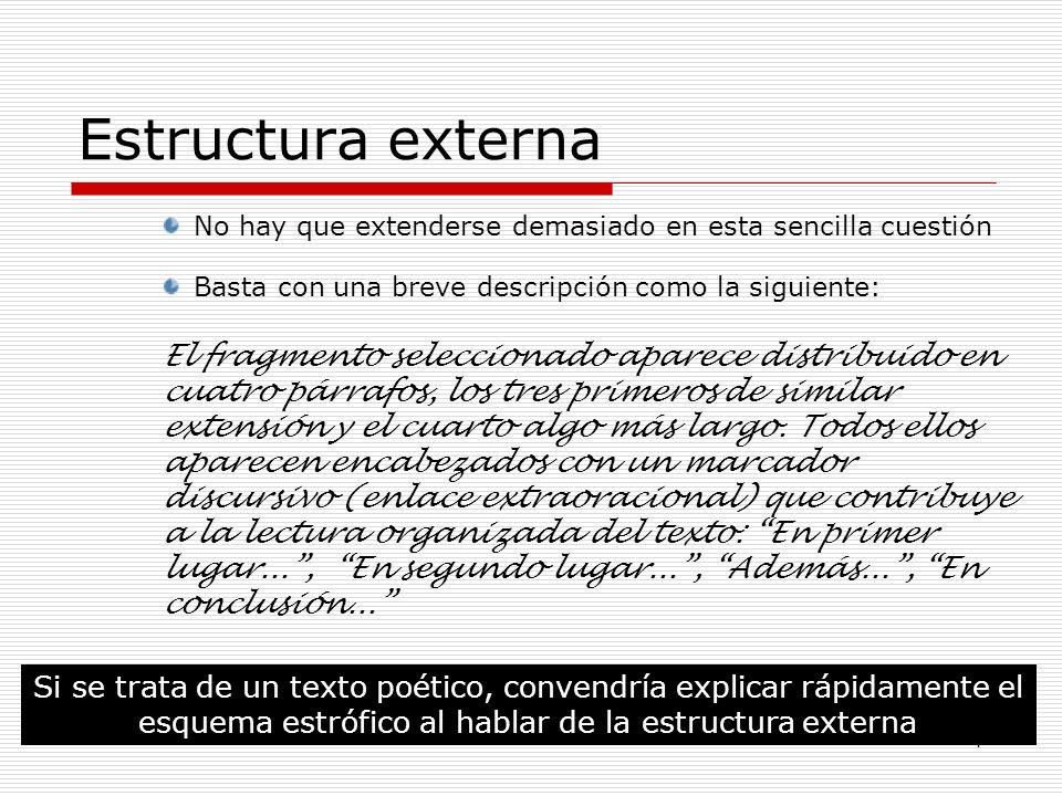 1 La Estructura De Los Textos Texto Significado Y Sentido