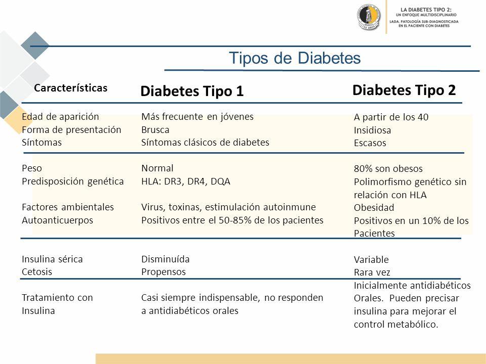 edad de aparición de diabetes tipo 1