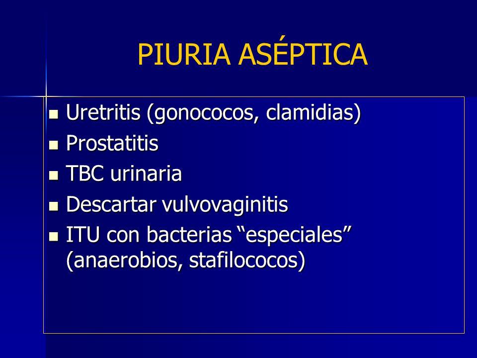 prostatitis aséptica
