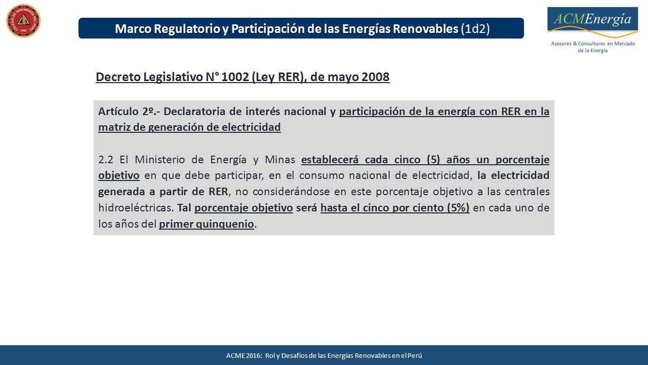 Energías Renovables en el Perú - ppt descargar