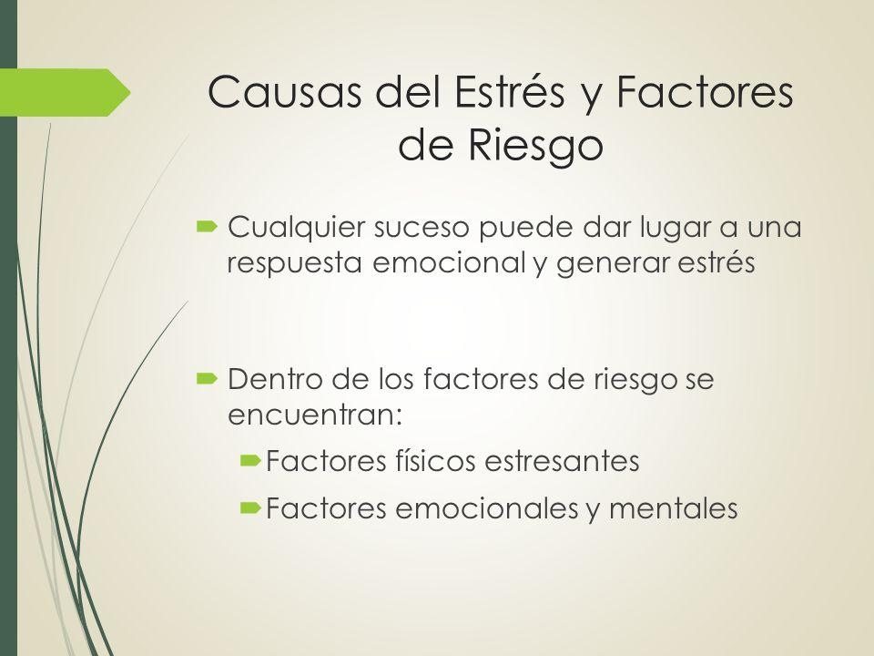 factores de riesgo en el estres