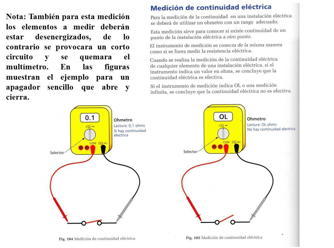 Circuito Sencillo : Funciones multímetro amperímetro voltímetro medir resistencia. ppt