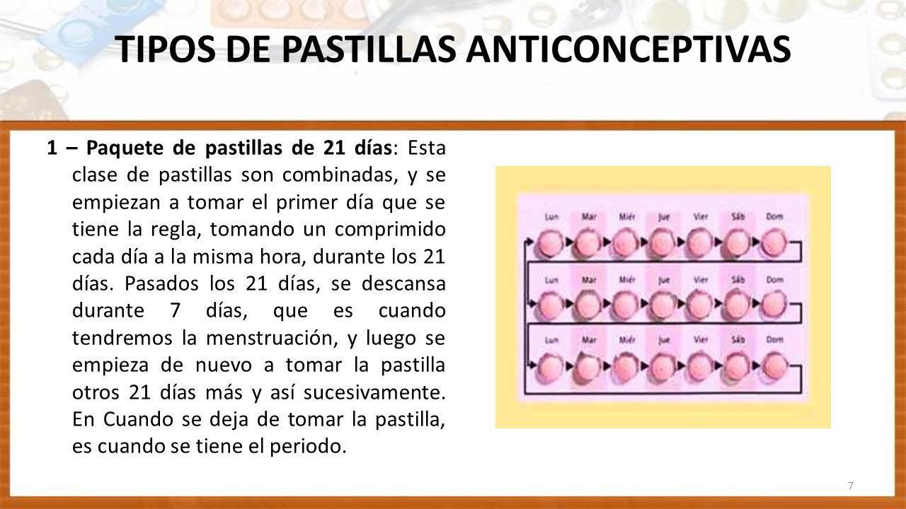 pastillas anticonceptivas como tomarlas 28 dias
