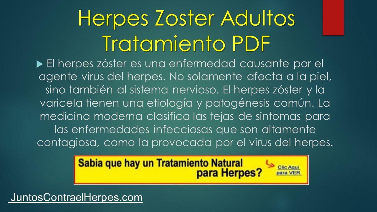 contagio de herpes zoster pdf