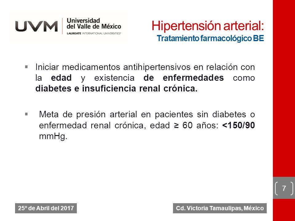 Mejor medicamento antihipertensivo para la diabetes