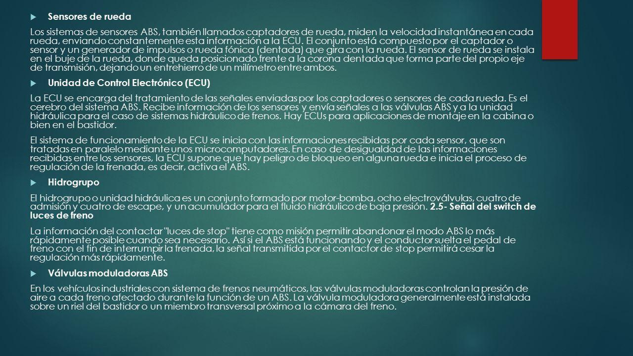 FRENOS ABS Profesor Berrocal Huerta Ricardo Alberto 4IV13 Alumno ...