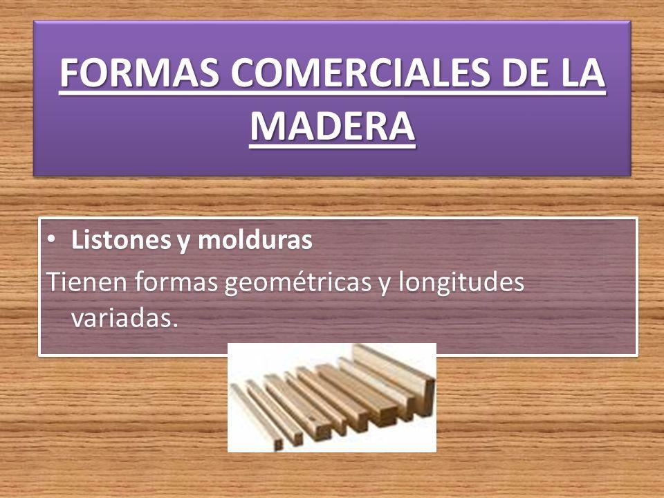 LA MADERA. La madera, sustancia dura y resistente que constituye el ...
