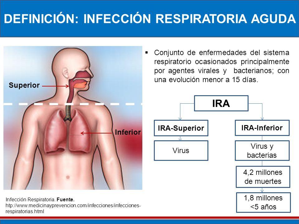 imagenes de la infeccion respiratoria aguda