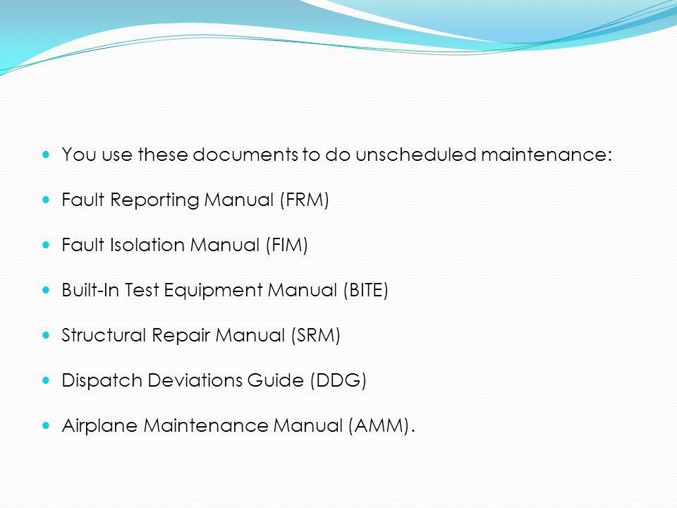 ata spec 100 manufacturers technical data the air transport rh slideplayer es