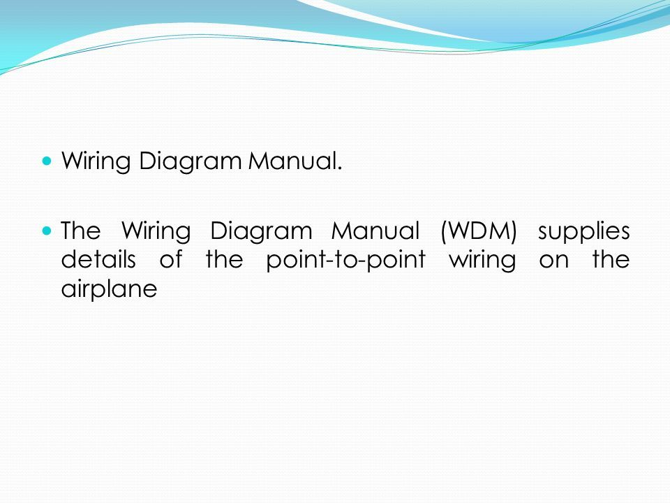 Ata spec 100 manufacturers technical data the air transport 21 wiring diagram manual asfbconference2016 Gallery