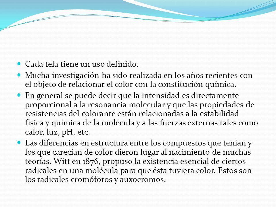 Ing. Marco Antonio Villena Mozo Colorante Los colorantes pueden ser ...