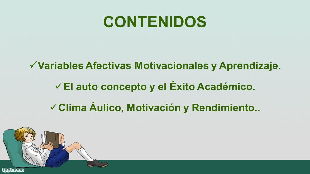 Variables Afectivas Motivacionales Y Aprendizaje Ppt