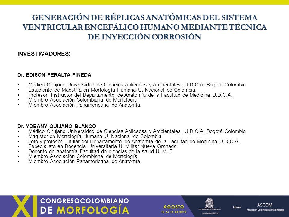 GENERACIÓN DE RÉPLICAS ANATÓMICAS DEL SISTEMA VENTRICULAR ENCEFÁLICO ...