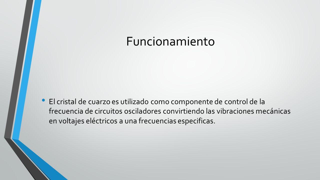 Circuito Oscilador : Oscilador de cristal de cuarzo nombre williams carabante curso