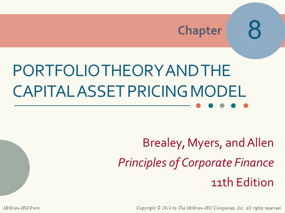 principles of corporate finance 11th edition