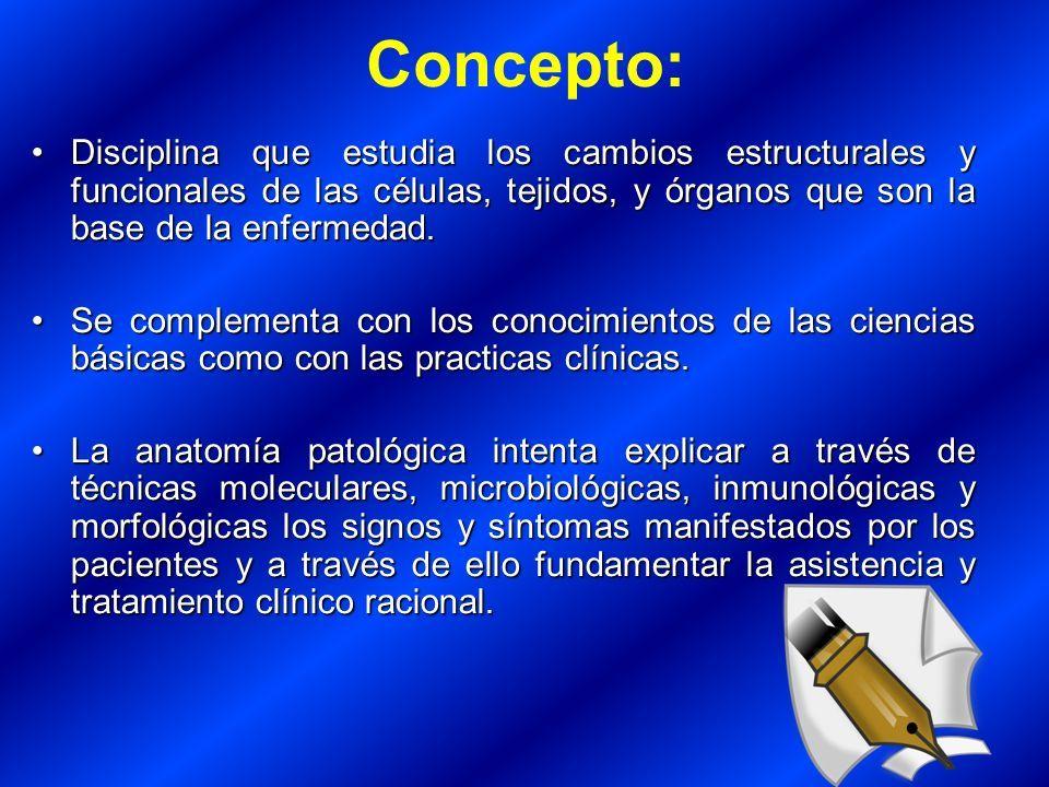 Anatomía Patológica Cátedra de Patológia General Facultad de ...