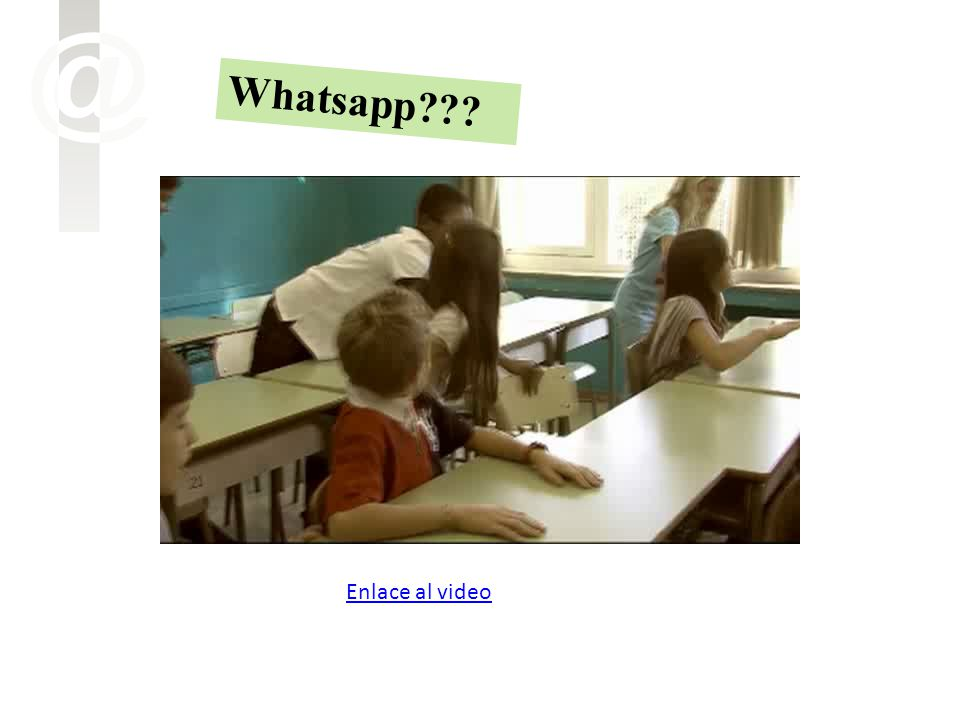 Enlace al video Whatsapp
