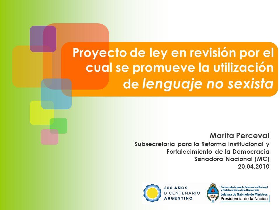 Proyecto de ley en revisión por el cual se promueve la utilización ...