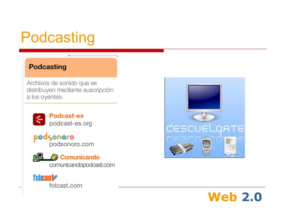 Web 2.0 Podcasting