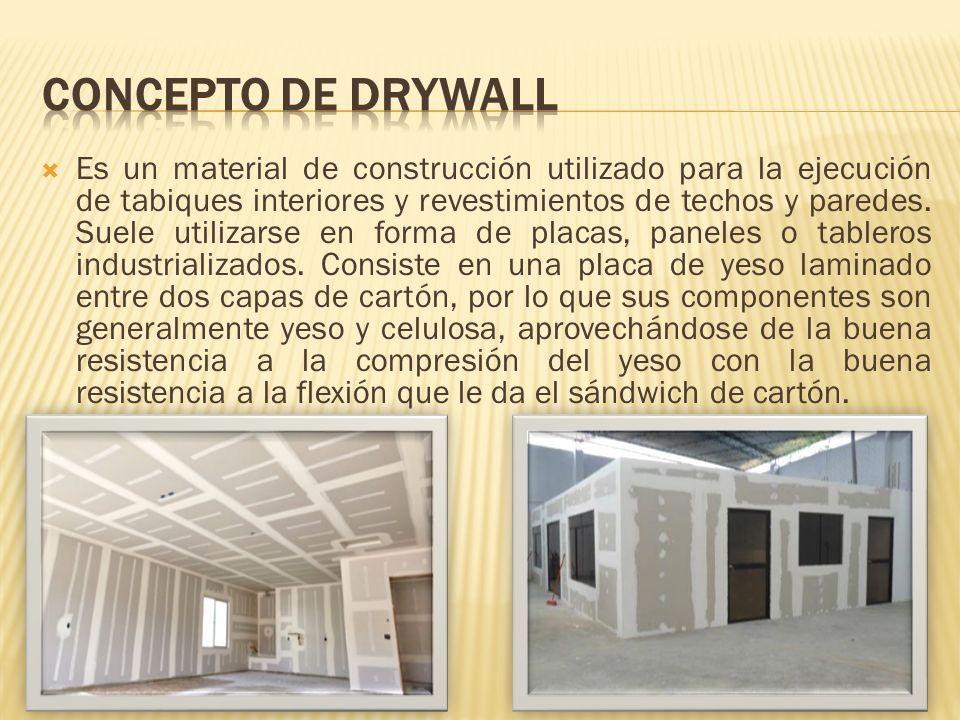 El Sistema Drywall Ha Revolucionado Nuestros Sistemas