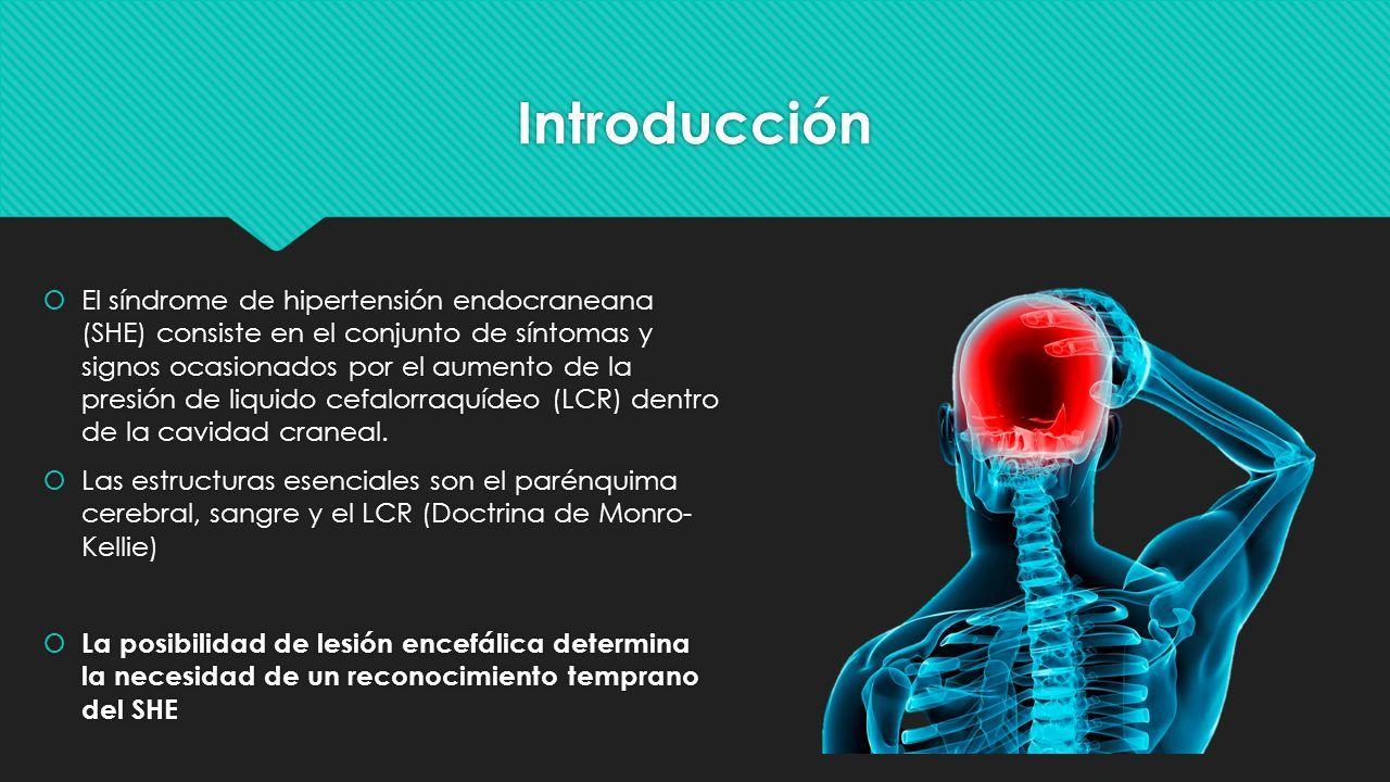 Encefalopatía y síndrome de hipertensión intracraneal
