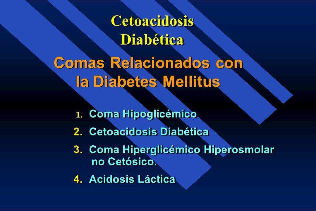 acción de la diabetes en estado hiperosmolar