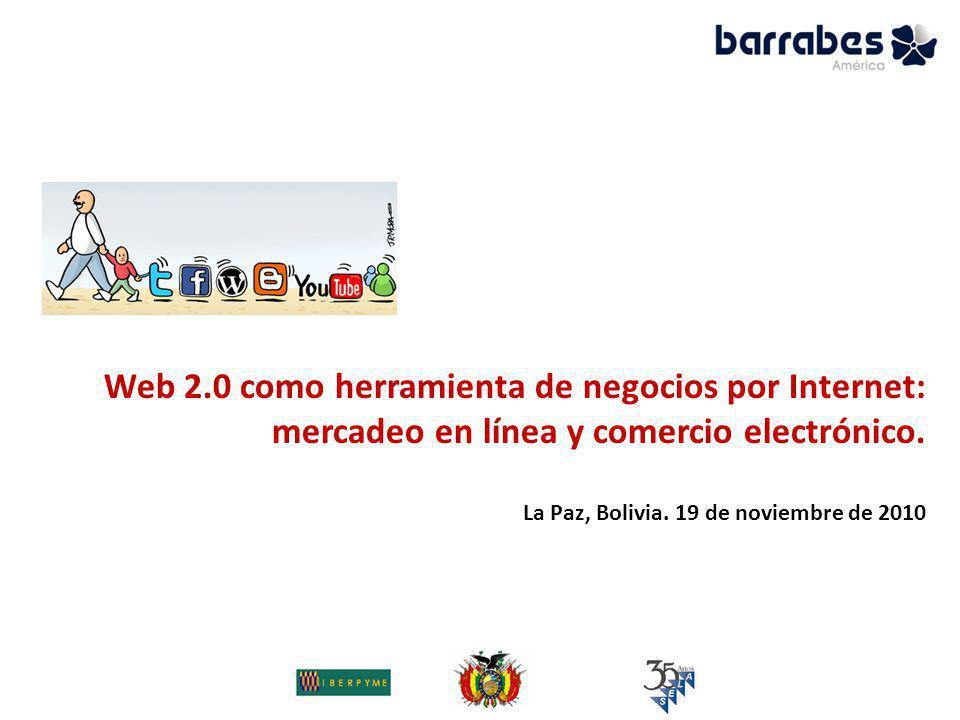 Web 2.0 como herramienta de negocios por Internet: mercadeo en línea ...