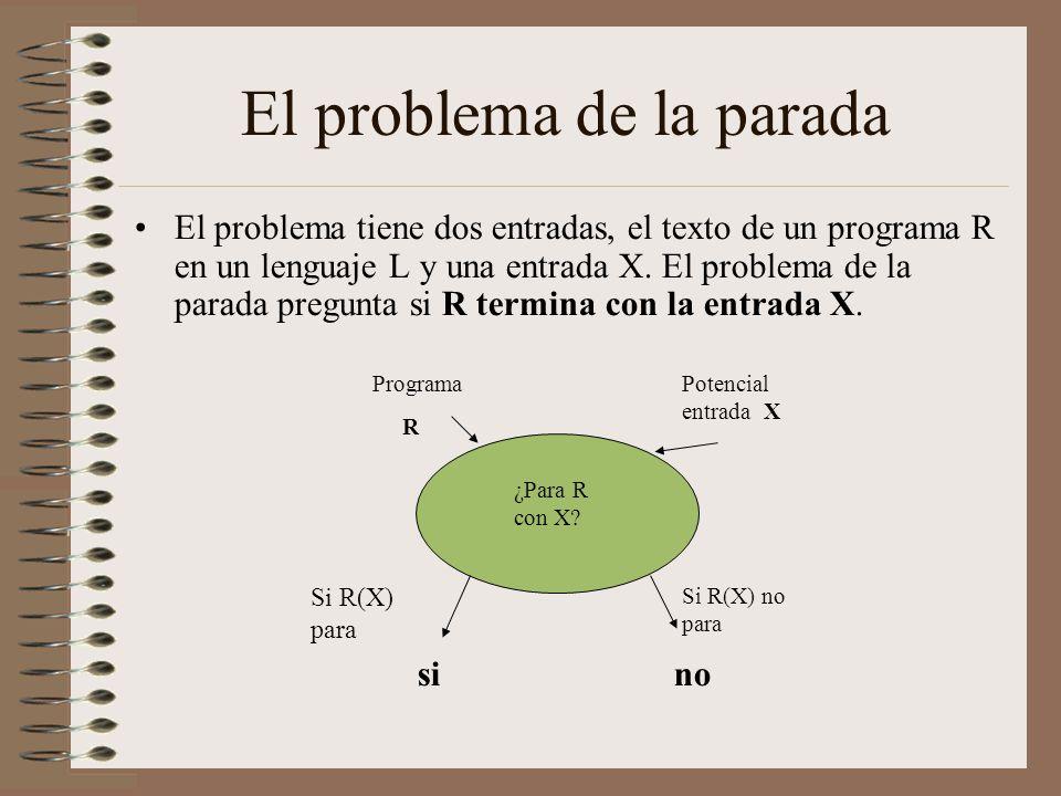 Resultado de imagen de El problema de la parada de Turing