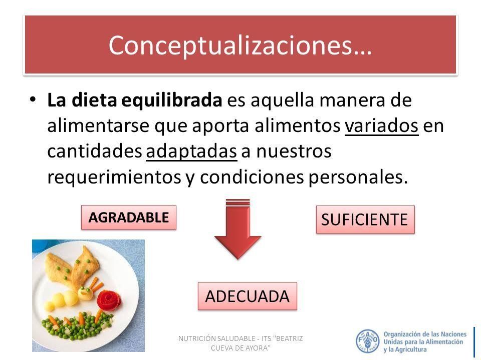 Dieta equilibrada definicion pdf