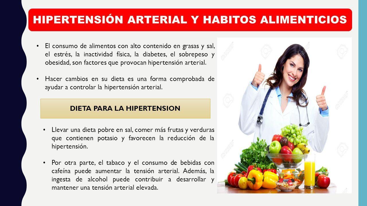 dieta de diabetes hipertensión